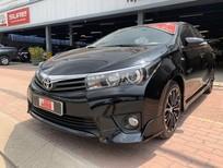Bán Toyota Corolla altis 2.0V 2016, màu đen, xe nhà đi, bao test