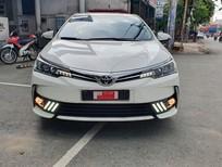 Bán xe Altis 1.8G sx 2018 màu trắng, cách âm toàn xe, lên đèn phong cách