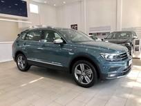 Volkswagen Tiguan Topline đời mới, nhập khẩu, giảm 50% phí trước bạ, màu xanh petronas độc lạ, ưu đãi hấp dẫn