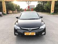 Cần bán gấp Honda Civic 1.8AT 2008, màu đen, giá 295tr