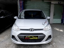 Cần bán lại xe Hyundai i10 2017, màu bạc giá cạnh tranh