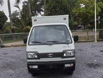 Xe tải Thaco 5 tạ nâng tải 9 tạ, đóng các loại thùng lửng, bạt, kín, bán hàng lưu động trả góp từ 60tr