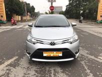Cần bán lại xe Toyota Vios 1.5E 2014, màu bạc