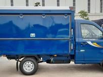 Xe tải thùng kín cánh dơi bán hàng lưu động Thaco Towner 990 tại Hải Phòng