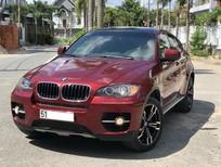 BMW X6 màu đỏ nhập khẩu, xDrive 35i, xe mới từ trong ra ngoài