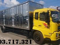 Bán xe tải DongFeng 7T5 thùng kín 9m7, DongFeng B180 thùng kín dài 9m7 mở 3 cửa