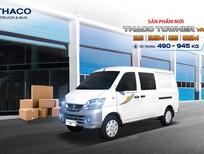 Bán xe tải vào phố cấm Thaco Towner Van tải trọng 945kg