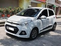 Bán xe Hyundai Grand i10 AT năm sản xuất 2015, màu trắng, nhập khẩu nguyên chiếc còn mới, giá 315tr