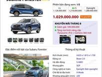 Subaru Forester - Khuyến mãi tháng 8