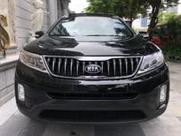 Cần bán lại xe Kia Sorento 2.4GATH sản xuất năm 2019, màu đen như mới