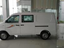 Xe tải Van Thaco Towner 5s màu trắng, 5 chỗ ngồi - Giao xe ngay thủ tục nhanh gọn