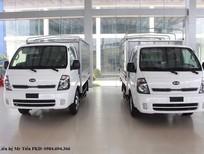 Xe tải Kia K149 tải 1.49 tấn thùng lửng, mui bạt, kín giá tốt, hỗ trợ trả góp