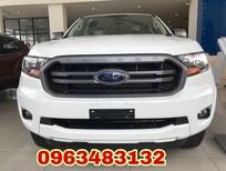 Đại lý xe Ford An Đô bán xe Ranger XLS 2.2L 4x2 AT màu trắng mới 100%, hỗ trợ trả góp 80%