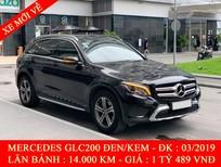 Quốc Duy Auto - Bán xe Mercedes GLC200 đen/kem 2019 siêu sang - trả trước 550 triệu nhận xe ngay