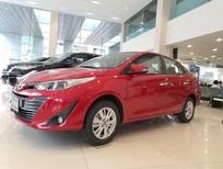 Cần bán xe Vios 1.5G CVT 2020 màu đỏ, ưu đãi sốc: Giảm tiền mặt + BHVC + PK chính hãng, LH 0901260368