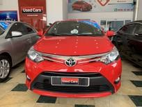 Bán Toyota Vios 1.5G năm 2014, màu đỏ, giá 470tr