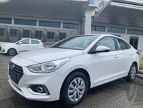 Bán Hyundai Accent 2020, màu trắng, giá 418tr giảm ngay 8tr + tặng kèm PK. Lh Hoài Bảo 0911.64.00.88