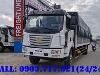 Bán xe tải Faw 7t25 thùng dài 9m7 Euro 4 giá tốt nhất thùng có sẵn giao luôn