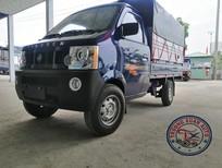 Bán xe Dongben DB1021, tải trọng: 990kg, đời 2020 thùng mui bạt, màu xanh hoặc trắng, 178tr
