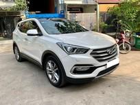 Bán Hyundai Santa Fe năm sản xuất 2017, màu trắng đẹp như mới, 839 triệu
