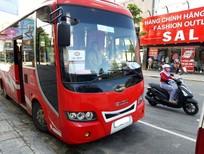Cần bán xe 34 chỗ Samco Felix cuối 2015, màu đỏ, ghế màu đỏ 770tr