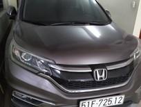 Bán xe Honda CRV 8/2015, máy 2.4 màu nâu, như mới