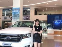 Bán xe Ford Ranger Limited sản xuất 2020, màu trắng, nhập khẩu, 799tr