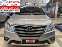 Toyota Innova 2.0E số sàn, lướt 3 vạn 6, trang bị full phụ kiện