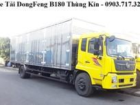 Bán xe tải DongFeng 7T5 thùng kín mới 2020. DongFeng B180 thùng kín 9m5
