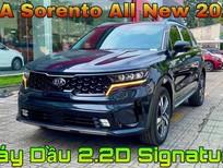 Kia Sorento 2021 2.2D Signature màu xanh đen giao trong năm 2021