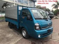 Xe tải Kia tải 1.4 tấn nâng tải 1.9 tấn vào phố, thùng bạt, thùng kín các màu xanh Hyundai