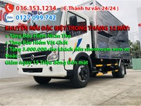 Xe tải 1,9 tấn thùng kín, giá tốt nhất hiện tại. Hỗ trợ trả góp lãi suất thấp
