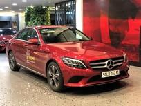 Mercedes-Benz C180 2019 cũ, màu đỏ duy nhất, chính hãng