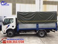 Xe tải Nissan 1T9 thùng mui bạt 4m3, khuyến mãi đặc biệt, chỉ trong ngay hôm nay, nhanh tay nhanh tay