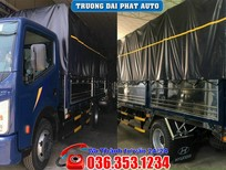 Xe tải Nissan Đồng Vàng 3T5 thùng mui bạt 4m3, giá cực bất ngờ