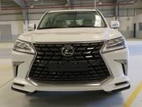 Bán Lexus LX570 Super Sport S 2021 nhập Trung Đông mới 100% màu trắng nội thất kem sáng