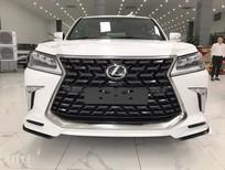Viet Auto Luxury giao ngay Lexus LX570 MBS 4 ghế vip massage 2021, màu trắng nội thất nâu da bò