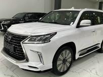 Lexus LX570 Super Sport 2021, màu trắng, nội thất kem, mới 100%, xe giao ngay