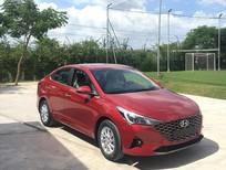 Cần bán xe Hyundai Accent AT 2021, màu đỏ giao ngay có xe sẵn