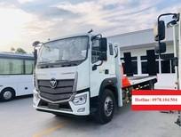 Xe tải nâng đầu 9 tấn chở máy công trình, Auman C160