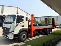 Xe tải nâng đầu 14 tấn chở máy công trình Auman C240