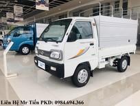Xe tải Thaco Towner800 tải 5 tạ nâng tải 9 tạ, các loại thùng, hỗ trợ trả góp, giá tốt