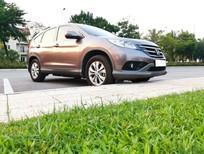 Nhà cần bán Honda CR V 2.0AT 2013, màu xám hồng
