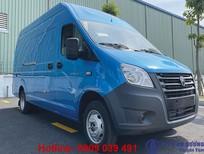 Xe van GAZ nhập khẩu NGA, thùng 14 khối, vận chuyển 24/24 trong nội ô thành phố không lo cấm tải cấm giờ