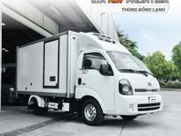 [Thaco Vũng Tàu] giá bán xe đông lạnh Kia K200 tải trọng 1.5 tấn động cơ Hyundai 2021, trả góp 75%