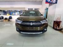 Bán ô tô Suzuki XL 7 số tự động 2020, màu xanh khaki, xe nhập Indonesia