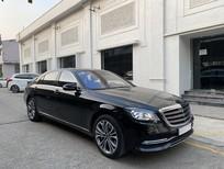 Bán xe Mercedes S450L luxury đăng ký 2020, màu đen, chạy lướt mới 8,736 km đẹp như mới, giá cực rẻ