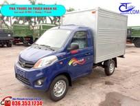 Xe tải nhỏ Foton 820 kg thùng kín. Chốt giá nhanh cho các bác về ăn Tết