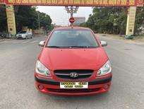 Cần bán gấp Hyundai Getz 1.1MT 2009, màu đỏ, nhập khẩu chính hãng, giá chỉ 215 triệu