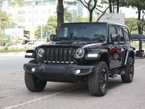 Bán xe Jeep Wrangler Unlimited Rubicon model 2021, màu đỏ, nhập khẩu nguyên chiếc